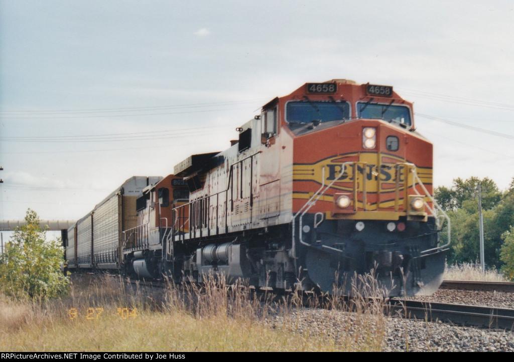 BNSF 4658 West