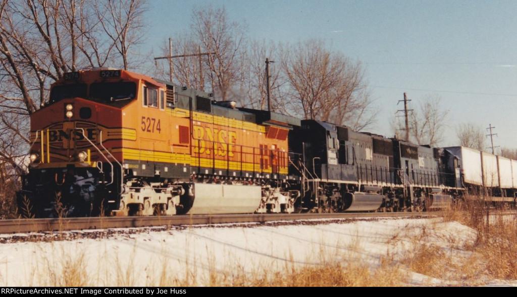 BNSF 5274 West