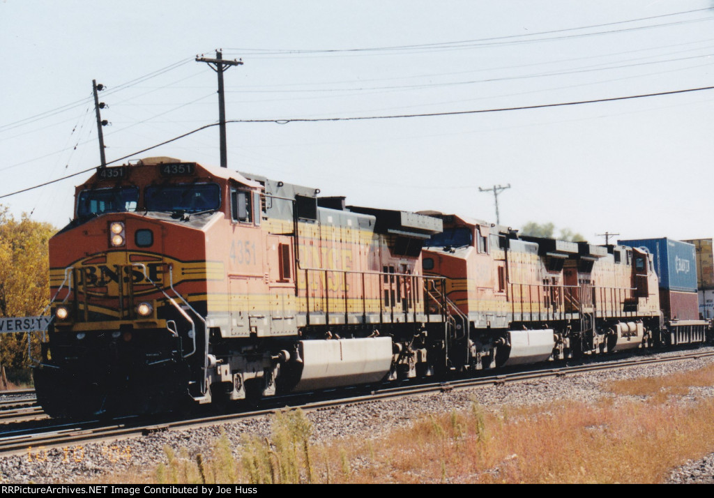 BNSF 4351 West