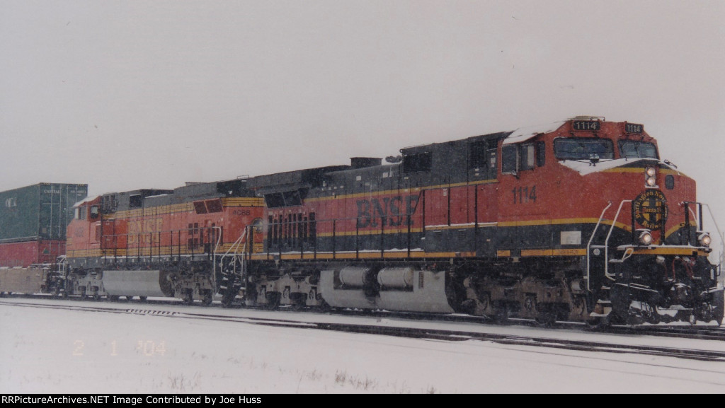 BNSF 1114 East