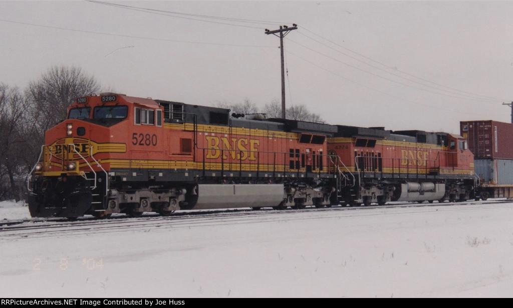 BNSF 5280 West