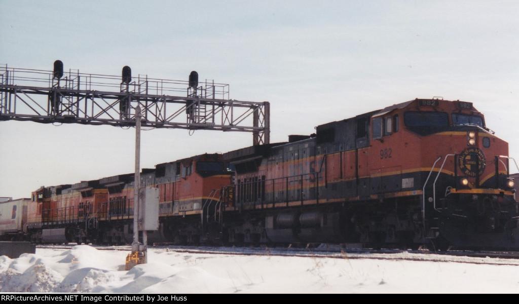 BNSF 982 West