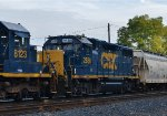 CSX 2686 rounds out this all standard cab EMD consist.