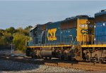 CSX 8546 westbound clear at AY.