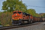BNSF 9224 approaches AY.