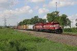 Bound for Kalamazoo, Grand Elk's 303 train begins its trip south