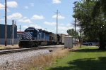 CEFX 3175 & CSX 1536 drop downhill on Track 1 with D707-10