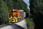 Z151 comes south out of the shadows as it heads for Grand Rapids