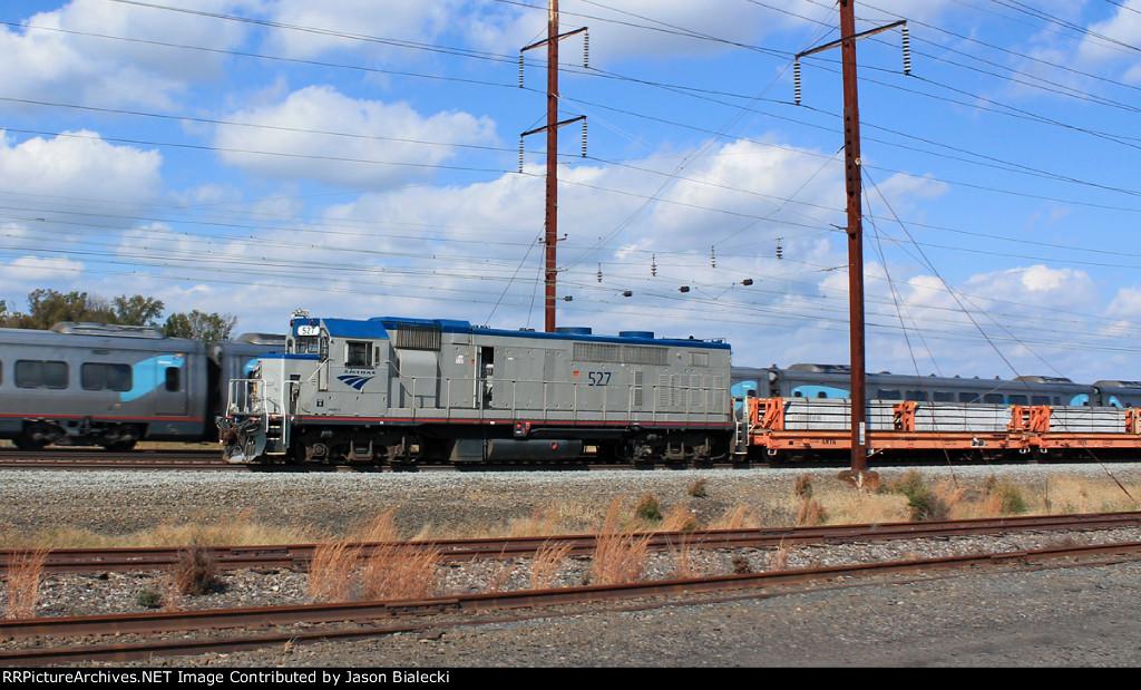 Amtrak Work Train on the NEC