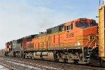 Westbound train 393