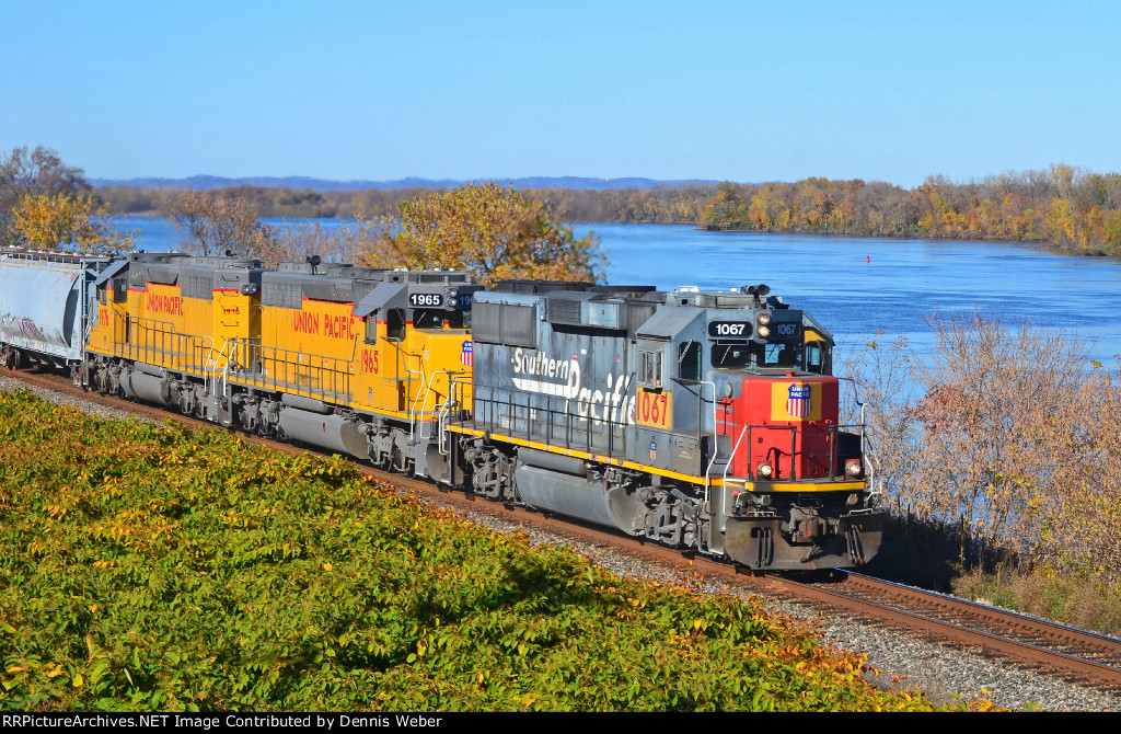 UP  1067, CP's  River  Sub.
