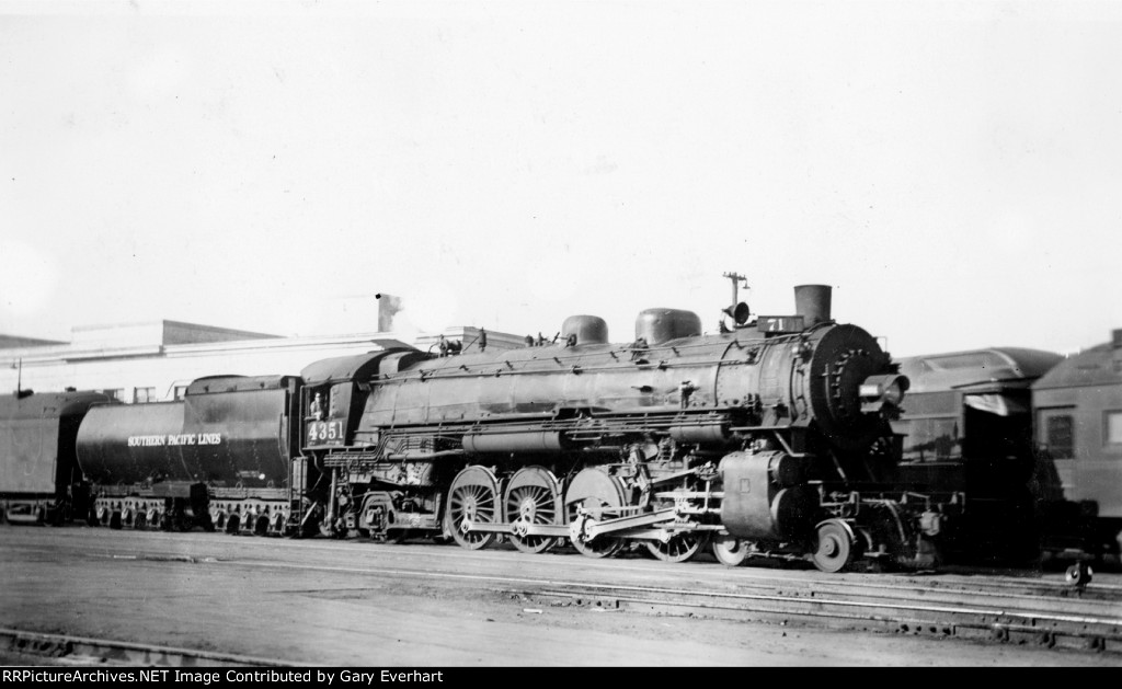 SP 4-8-2 #4351 - Southern Pacific