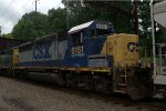 CSX GP38-2S 6151 trails on C770-22