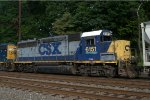 CSX GP38-2 6151 trails on C770-15
