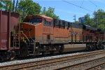 BNSF ES44C4 6970 trails on K042