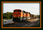 BNSF 8406 & 8407 - Numerical Sisters!