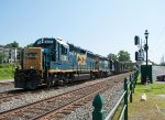 CSX 6243 Leads B740 Out of Palmer