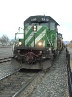 BNSF 7910 SD40-2