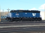 NEWLY PAINTED!!!  MRL 326 SD45-2, ex-SP 7555