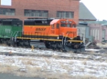 BNSF 7140 SD40-2 at Talgo-LRC
