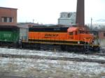 BNSF 7140 SD40-2