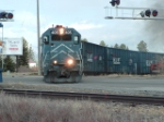 MRL 405 GP35 leaving R-Y Timber