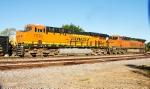 BNSF 7038 (DPU), 6968 (DPU)