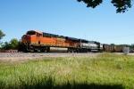 BNSF 6283 (DPU), 9408 (DPU)