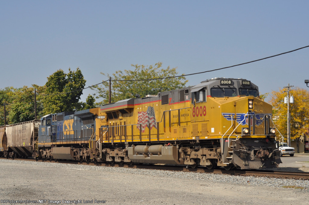 UP 8008 East