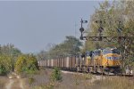 UP 4234 n CSX T 345 Southbound