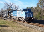 8429 leads 2 other NS engines west from Opelika.