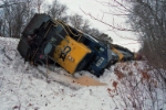 CSX 8142 in the ditch