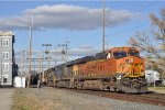 BNSF 6948 On NS 64 Q Eastbound