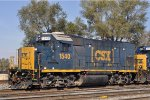 CSXT 1540 On CSX Y 101 At New River Yard