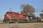 CP 8750 On NS 123 Eastbound