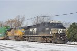 NS 9091 On NS 295 Eastbound