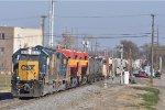 CSXT 6484 On CSX Q 365 Eastbound
