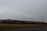 BNSF 6299, BNSF 9444, and BNSF 8569