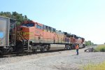 BNSF 5603 and BNSF 9286