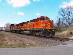 Northbound Manifest With BNSF Power