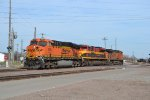 BNSF 6099 KCS 4111
