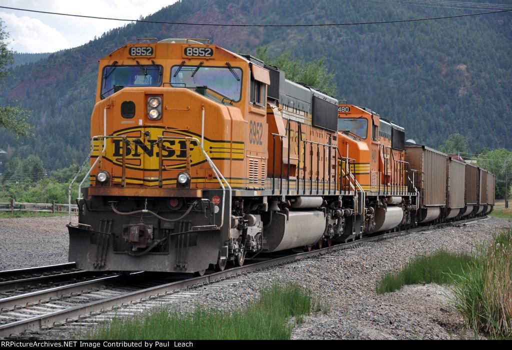 Shoving coal loads south