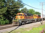 BNSF SD40's leads east bounder