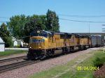 Coal train heads west past Rochelle