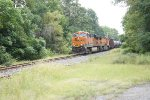 BNSF 6419 leading K055 with 4189