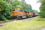 BNSF 6419 and 4189 on CSX K055