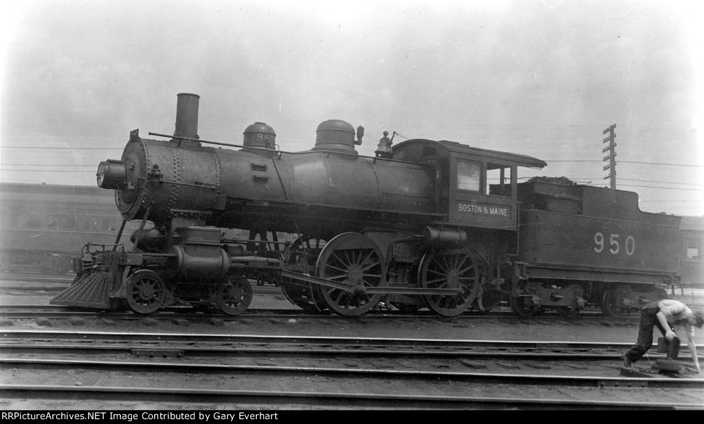 BM 4-4-0 #950 - Boston & Maine