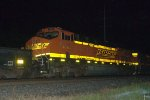 BNSF ES44DC 7543 trails on 14G