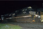 NS SD70M-2 2654 trails on 17G