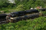 "NS SD70ACe 1065 ""Savannah and Atlanta"" on 506"